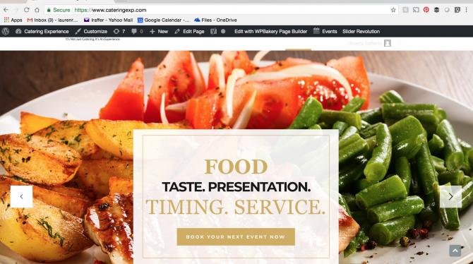 The Catering Experience website has a new look! Experts in making your catered event exceptional